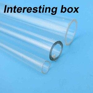 Plexiglass tube Acrylic tube Plastic tube Building model materials Bars DIY model accessories
