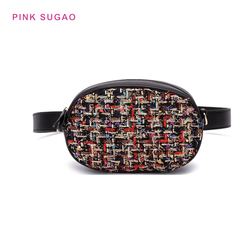 Pink Sugao fanny pack women chest bag fanny pack for women waist bag crossbody bag shoulder bag with chain high quality 2019 new