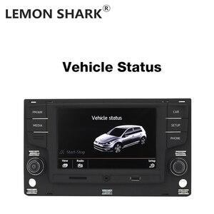 """Image 3 - Limon köpekbalığı MQB 6.5 """"MIB araba radyo Mirrorlink OPS ters kamera için VW Passat B8 Golf 7 radyo MK7 yedi 5GG 035 280B"""