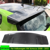 Auto Part Carbon Fiber /FRP Rear Roof Lip Spoiler Trunk Boot Wing Car Styling for Volkswagen VW Scirocco 2008 2013