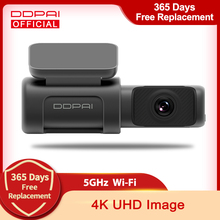 DDPAI Dash Cam Mini 5 UHD DVR Android Car Camera 4K Build-in Wifi GPS 24H Parking 2160P