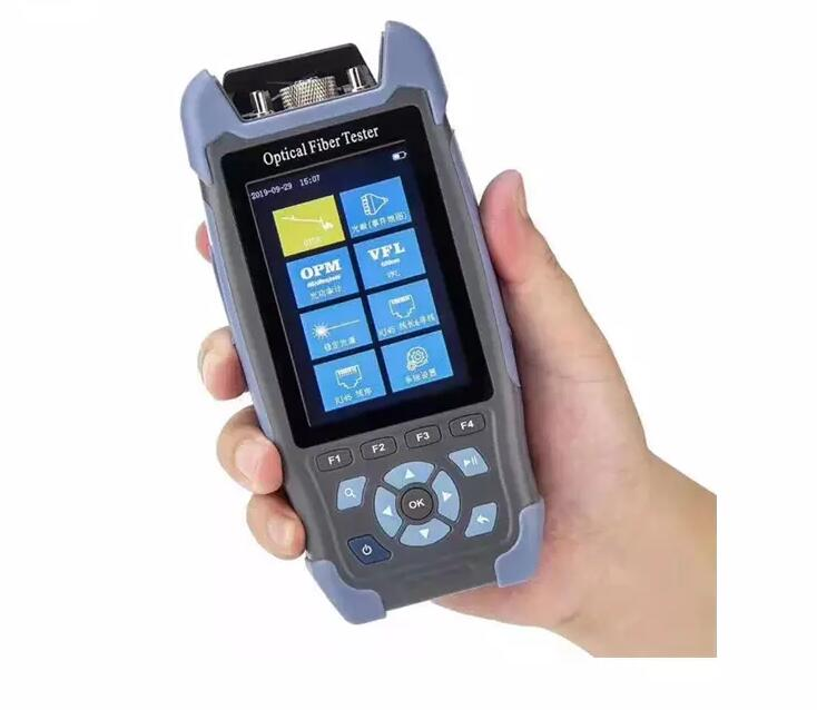 Handheld Mini OTDR Fiber Optic Reflectometer With VFL OLS OPM Event Map 1310nm 1550nm