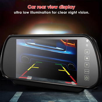 background monitor Rearview Parking Mirror Display Car Mirror Monitor Backup Car Monitor System for Car Rearview
