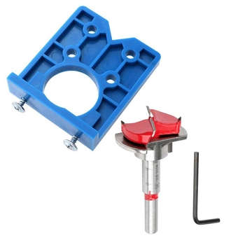 Concealed Hinge Jig Forstner Bit Sets-35mm Hinge Hole Cutter for Cabinet Hinges and Mounting Plates electricity cabinet bronze tone metal concealed hinge is generally used as fixing hinge