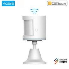 Датчик движения Aqara ZigBee Gateway Mi Home, Беспроводной сенсор для обнаружения движения, с держателем светильник