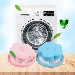 2020 bolsa de filtro de eliminación de pelo bolsa de bola de limpieza trampa de fibra sucia portátil lavadora bandeja de bolas de lavandería