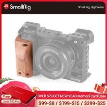 Smallrig a6400 カメラケージ木製ハンドグリップソニー A6400 ボトルケージクイックリリース木製ハンドルグリップ APS2318