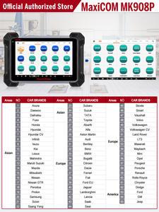 Autel Pro-Diagnostic-Tool Ecu-Coding-Mk908p 2534 MS908P Better Pass-Through Maxicom Than