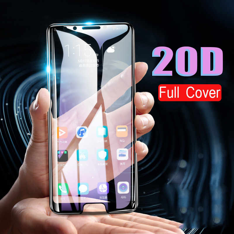 20D Protective Tempered Glass On The For Huawei Honor 10i 8 9 10 Lite 9X 7a 20 Pro Glass Screen Protector Honor 8X Full Cover