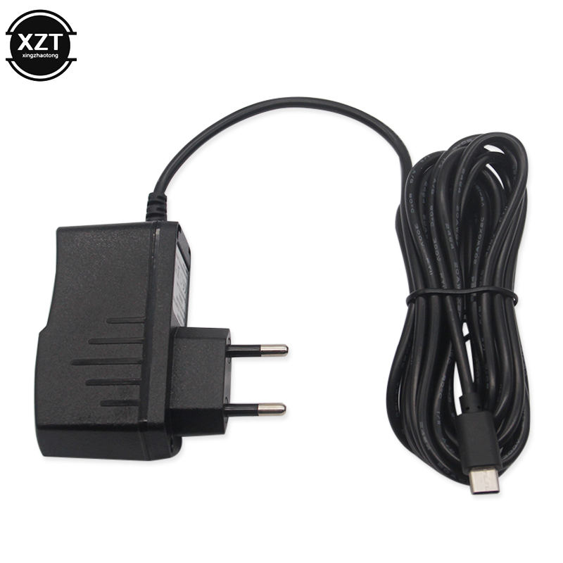 3M EU Charger for Nintend Switch NS Game Console ABS 5V 2.4A AC Adapter Charging USB Type C Power Supply EU Plug Travel Charger 5