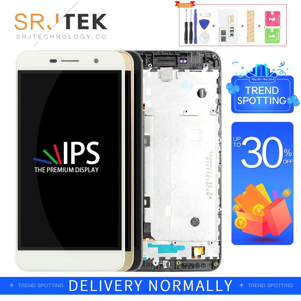 Srjtek For <font><b>Huawei</b></font> <font><b>Y6</b></font> <font><b>Pro</b></font> <font><b>LCD</b></font> Display Panel with Touch Screen Digitizer 5.0'' Full Assembly Frame <font><b>TIT</b></font>-U02 <font><b>TIT</b></font>-<font><b>AL00</b></font> <font><b>TIT</b></font>-L01 image