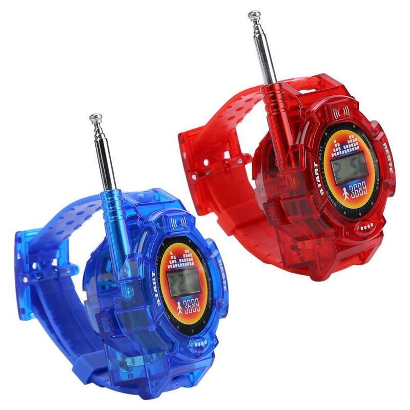 2pcs Children 7in1 Kids Watch Toy Outdoor Walkie Talkie Set Multi-function 50-150M Intercom Outdoor Interphone