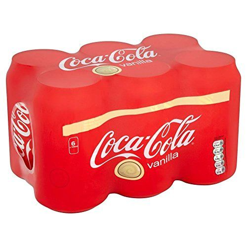 Coca Cola Vanilla (6x330ml) - Pack Of 2
