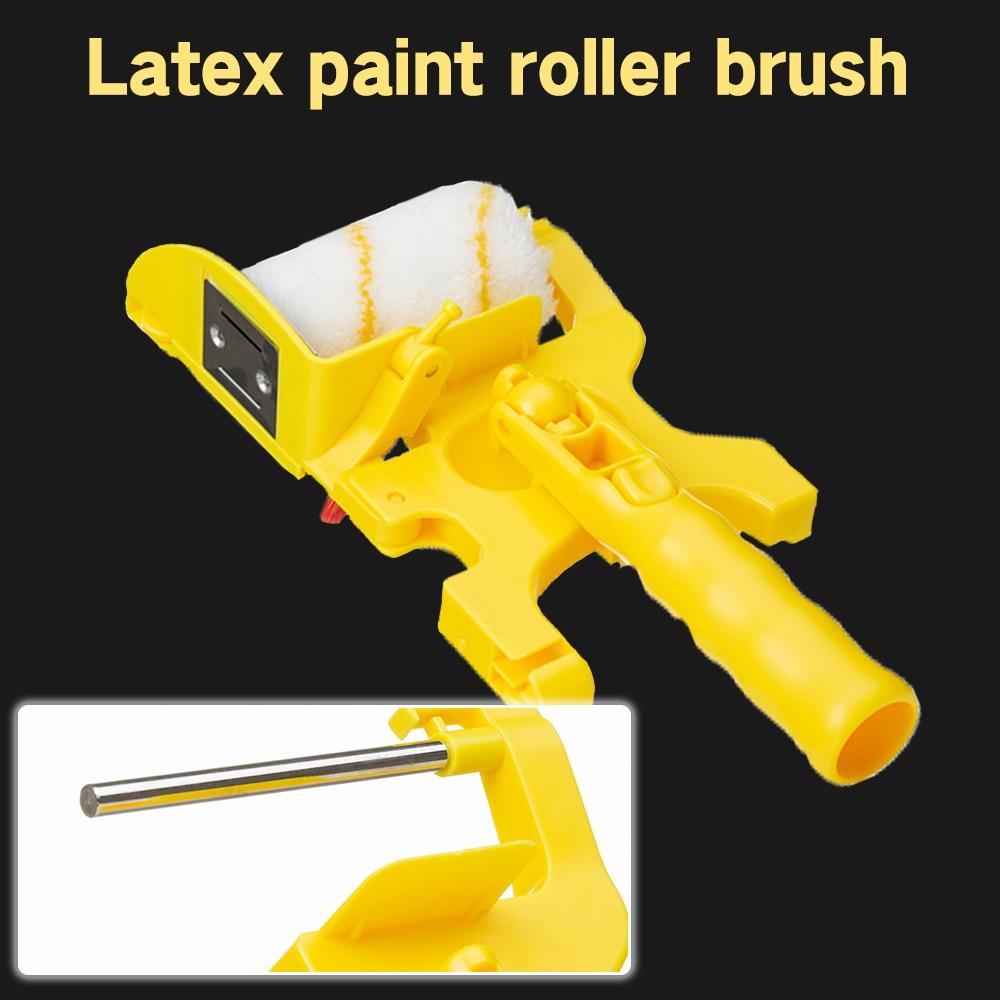 Clean Cut Paint Edger Roller Brush Multifunctional Roller Paint Brush Clean Cut Paint Edger Wall Painting