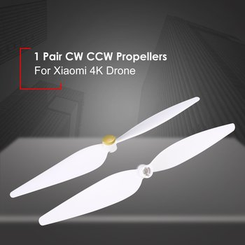 2 Pairs 10inch Propellers Spare Parts Props Set for RC Xiaomi 4K Version Drone 4Pcs Blades CW CCW Propellers RC Drone Accs image