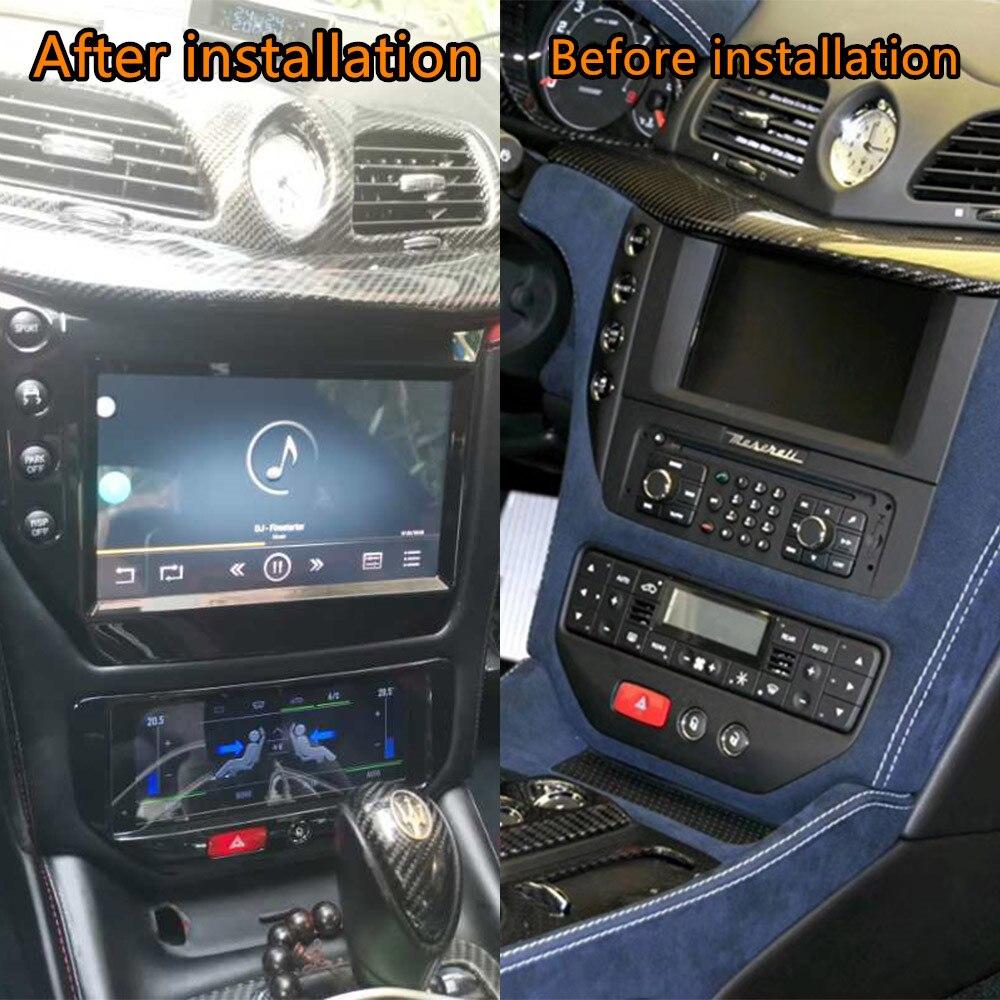 AC A/C/Junta de Maserati GranTurismo Android Radio GT/GC/GTS Grancabrio 2007 + Unidad de coche reproductor Multimedia estéreo GPS Navi