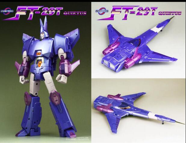Cool Metal Chorme Color FansToys FT-29T Quietus Transformers 2019 INSTOCK