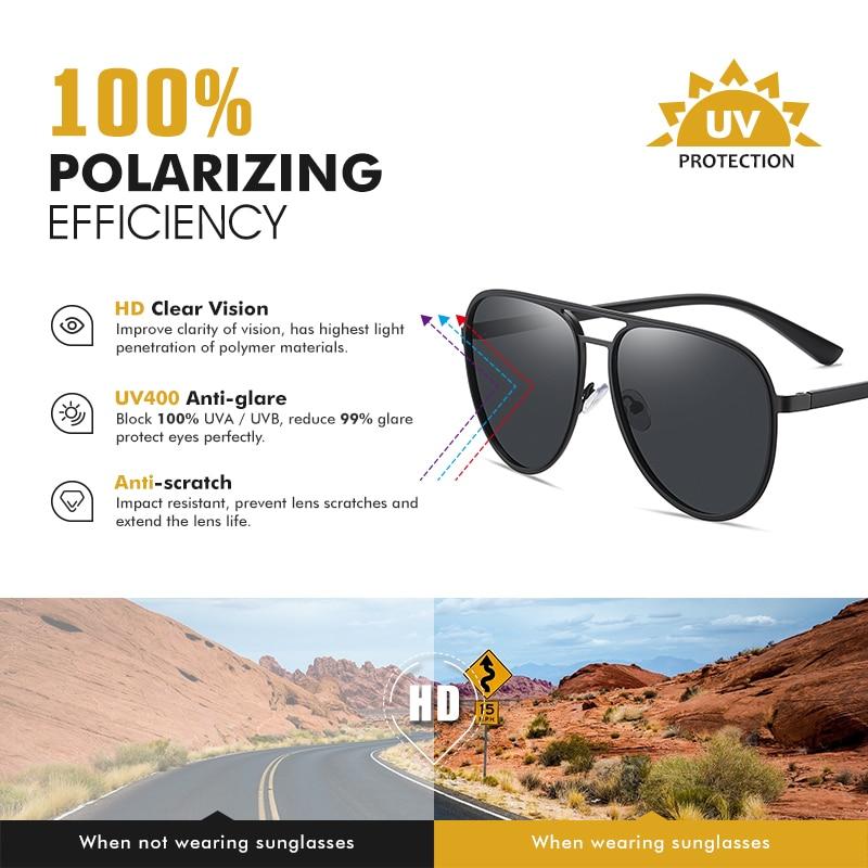 Купить coolpandas 2021 трендовые высококачественные мужские солнцезащитные