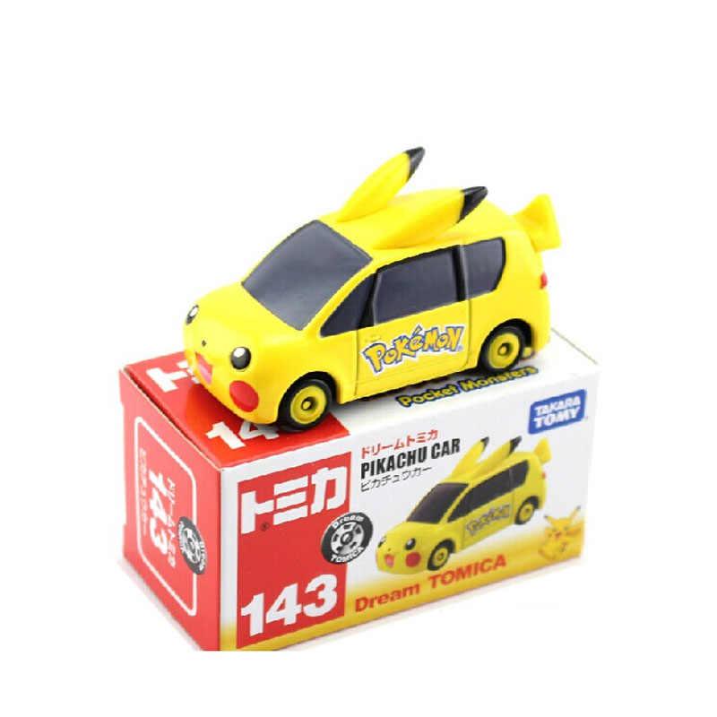 Original รถ TOMY Alloy รุ่น Pikachu Optimus Prime Super Mario Batman Dark Knight Batmobile คริสต์มาสของขวัญของเล่น