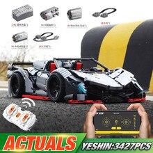 23006 Technic Car Mini Legoing блоки MOC-10559 Lamborghinis Veneno Roadster App Модель автомобиля игрушки для детей рождественские подарки