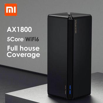 New Arrival Xiaomi router AX1800 Qualcomm five-core wifi6 2,4G 5,0 GHz full gigabit 5G dual-frequency home wall-penetrating king Accessories Electronics
