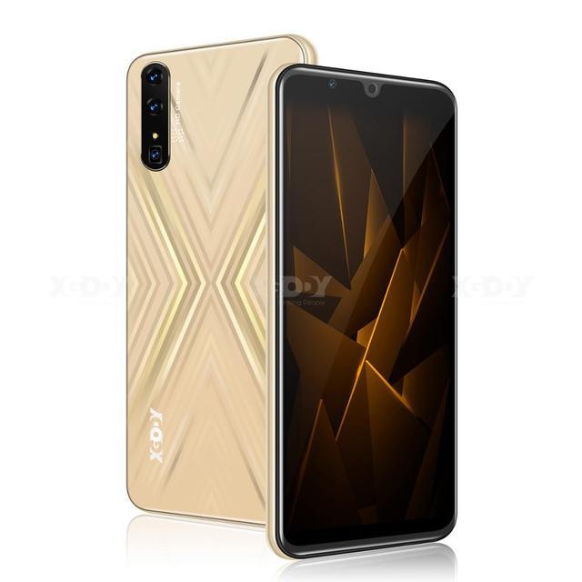 "XGODY 3G Smartphone Android 9.0 6"" 18:9 QHD Cellphone 2GB RAM 16GB ROM 2800mAh Dual SIM 5MP GPS Wi-Fi Mate X Mobile Phone"