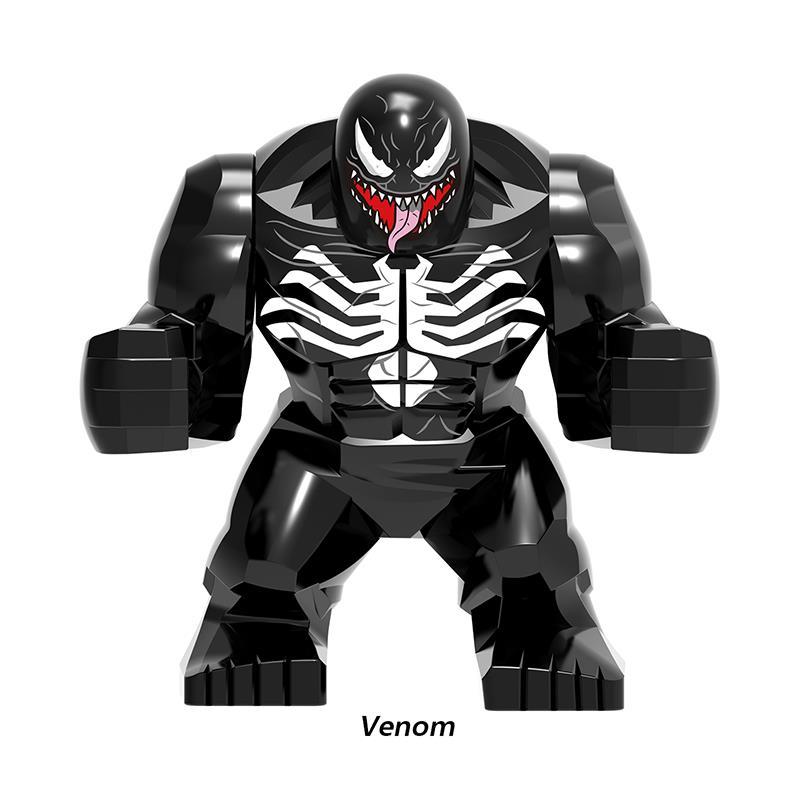 Avengers 4 Marvel Super Heroes Iron Man Captain America Thor Spiderman Thanos Mini Building Blocks Figures