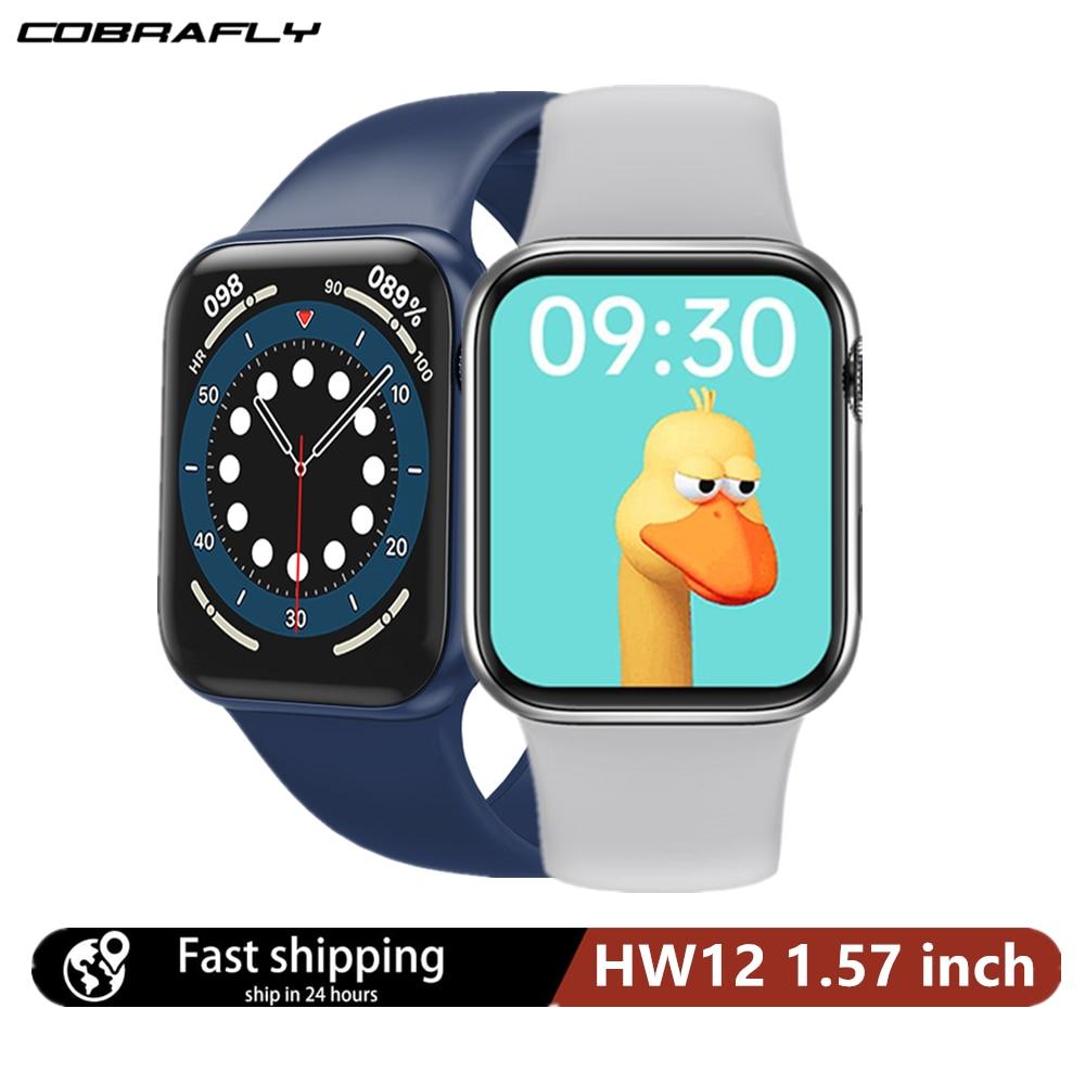 Смарт-часы Cobrafly IWO HW12, 1,57 дюйма, 40 мм
