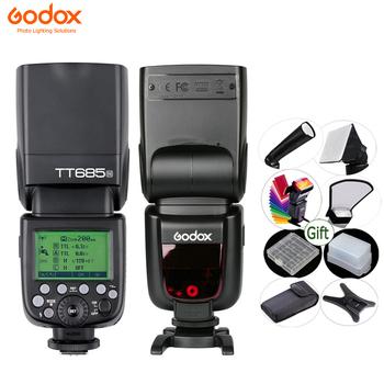 GODOX TT685 lampa błyskowa do aparatu TTL 2 4G HSS 1 8000s GN60 bezprzewodowa lampa błyskowa TT685-C N S O F do Canon Nikon Sony Olympus Fuji tanie i dobre opinie Lumix Fujifilm 410G 64x76x190mm 5600K