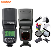 Godox TT685 カメラフラッシュライト ttl 2.4 グラム hss 1/8000s GN60 ワイヤレススピードライト TT685 C/n/s/o/f キヤノンニコンハンドストラップカメラストラップ