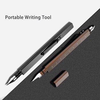 Aluminum Alloy Multi-function Self-defense Tactical Pen Broken Window Cone EDC Outdoor Survival Portable Tactical Pen недорого