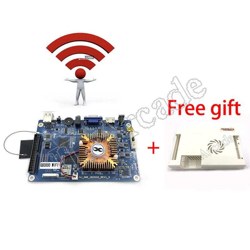 Pandora 3D KING 2020 Newest Wifi 3D 2448 Retro Arcade Games PCB Board 134*3D Games + 2314*2D Games HDMI VGA Output Motherboard(China)