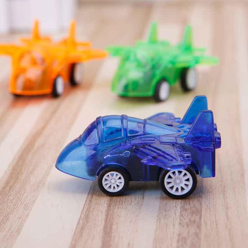 Çocuk plastik uçak geri çekin oyuncak Mini uçak modelleri oyuncak bebek çocuk eğitim hediye