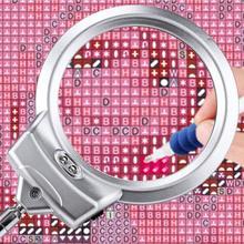 5D DIY przybory do malowania diamentowego lupa z lampą LED światło dla DIY zestawy do malowania diamentowego i narzędzia do haftu krzyżykowego akcesoria lampa lupa tanie tanio Obrazy PAPER BAG Oddzielne Akrylowe Pełna Tak ( 50 sztuk) PLANT Zwinięte 30-45 Plac Europejski i amerykański styl diamond painting tools