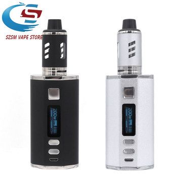 цены Original 200W Vape Kit Electronic Cigarettes 0.3ohm Coil Vape Atomizer 3.0ml & 4400mAh Battery Box Mod e cig VS Drag 2/ Luxe Kit