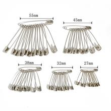 Brooch Apparel-Accessories Safety-Pins Needles Stainless-Steel DIY 50pcs Multi-Size Small
