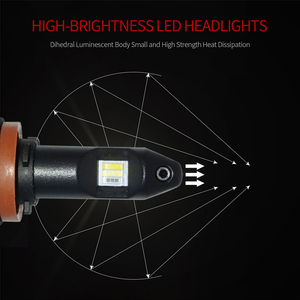 Image 3 - Трехцветный светодиодный противотуманный светильник H11 H8 H9 H16 9006 HB4, белый, желтый, янтарный, Ледяной Синий, светодиодные лампы для передних противотуманных фар 12 В для Toyota