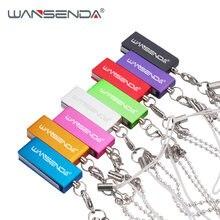 Wansenda брелок usb флэш накопитель 64 ГБ 32 оперативной памяти