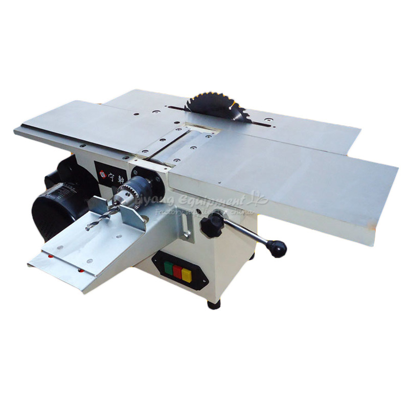 DIY Bench Planer multifunctional wood planer Q10086 with saw woodworking machine
