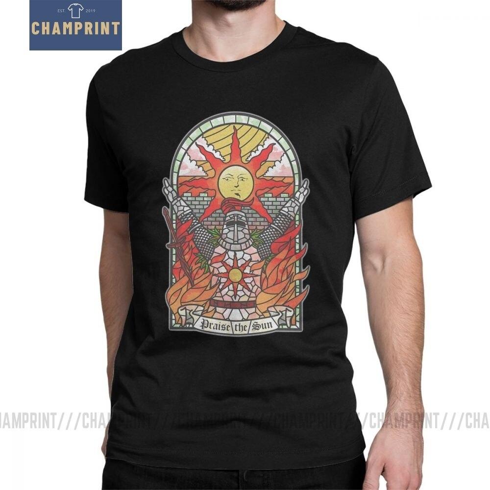 Âmes sombres Artorias de l'abîme Solaire d'astora louez le soleil 12964650 T-Shirt pour hommes manches courtes Hipster t-shirts coton