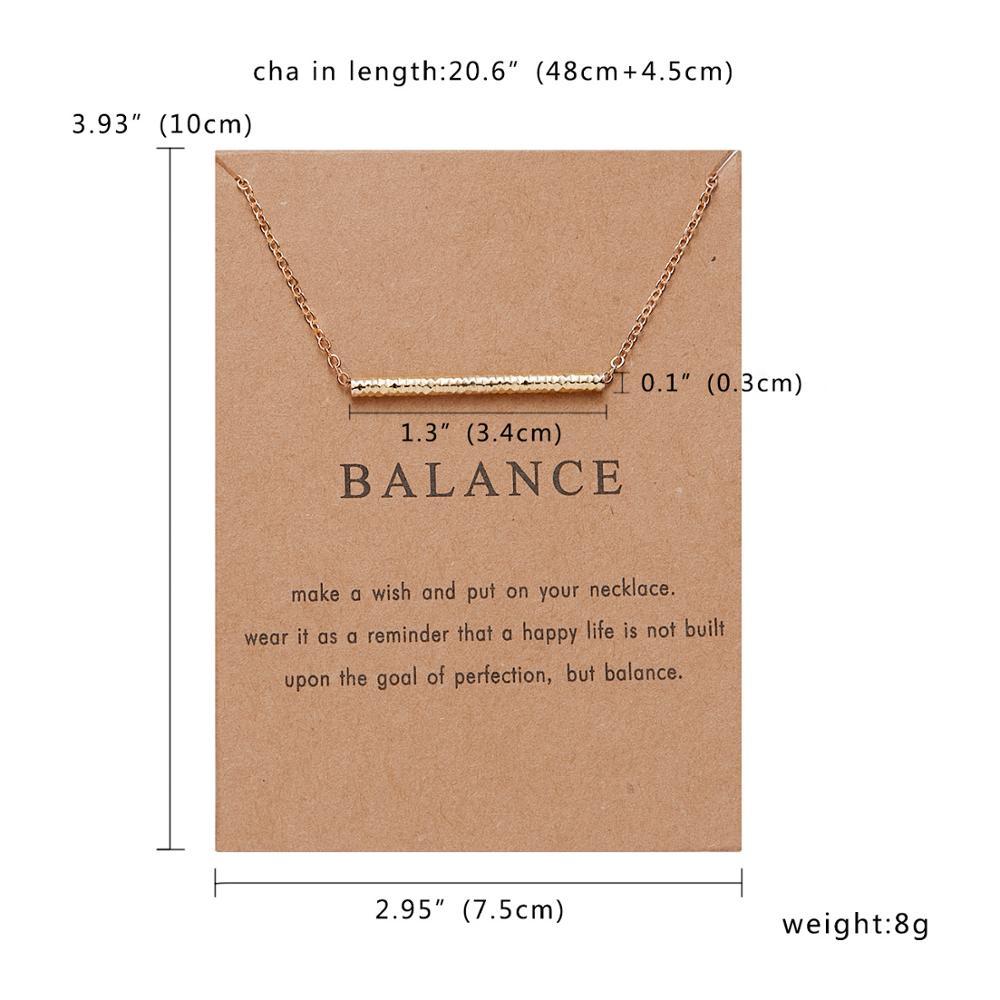 Rinhoo Karma, Двойная Цепочка, круглое ожерелье, золотое ожерелье с подвеской, модные цепочки на ключицы, массивное ожерелье, Женские Ювелирные изделия - Окраска металла: 6