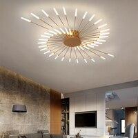 Nueva lámpara led para sala de estar dormitorio casa lámpara moderna araña de techo Led iluminación de la lámpara de la decoración de