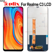100% Tested For OPPO realme C3 RMX2027 LCD Display Touch Screen Digitizer Assembly Replacement For phone 6.5
