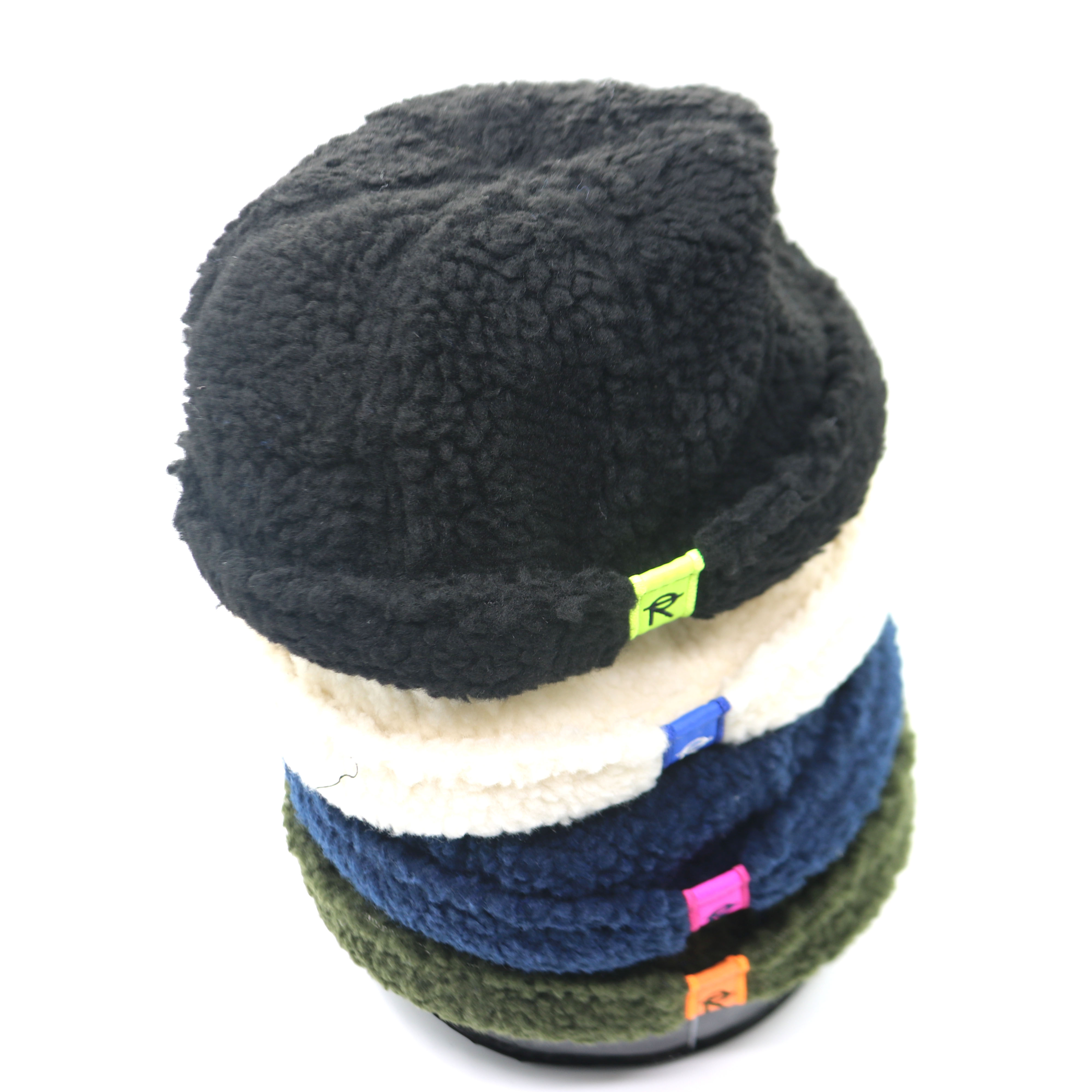 New 3-10 Years Old Korean Version Of Tide Lamb Wool Letter Patch Autumn And Winter Korean Warm Children's Melon Hat