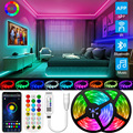 Led Strip Bluetooth Light 5M-30M DC 12V 5050/2835 waterproof LED Strip ribbon diode tape RGB Controller power adapter for Home