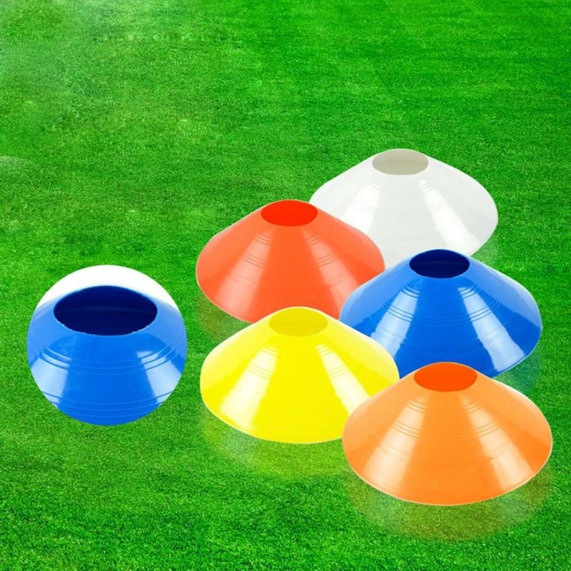 Football Soccer Training Sign Dish Very Durable For Grassland Lawn Training Football Soccer Cones Marker Discs Marker Bucket