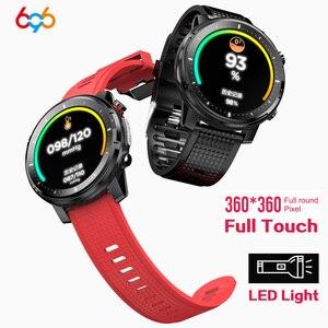 696 L15 360x360 пикселей Модные Смарт-часы для мужчин монитор сердечного ритма браслет кровяное давление водонепроницаемый спортивный Смарт-часы...