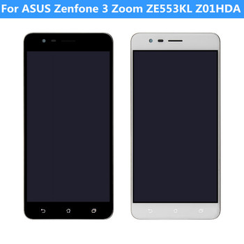 For ASUS Zenfone 3 Zoom ZE553KL Z01HDA LCD Display Touch Screen Replacement Damaged LCD Display Touch Screen With/Without Frame