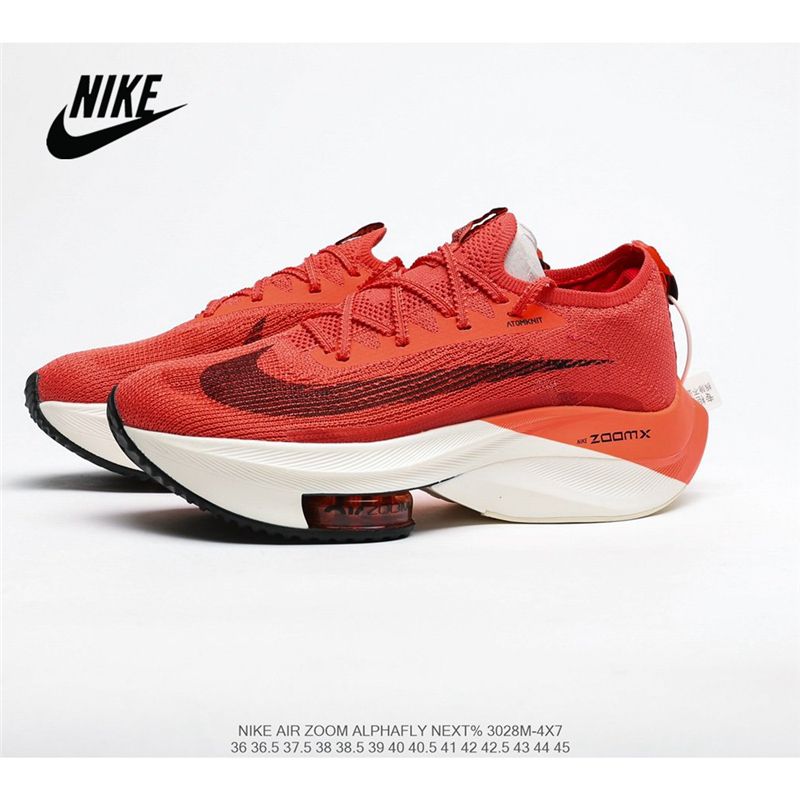 Original Nike Air Zoom Alphafly NEXT air cushion uses lighter zapatillas more breathable Atomknit <font><b>material</b></font> Women's <font><b>shoes</b></font> 36-40 image