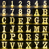 LED English Letter Night Light Alphabet Battery Marquee Sign Number Lamp Indoor Home Culb DIY Wedding Birthday Party Decoration 2